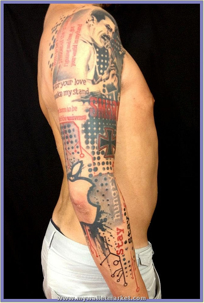 modern-abstract-tattoo by catherinebrightman