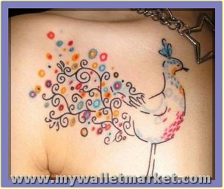 peacock-tattoos-abstract