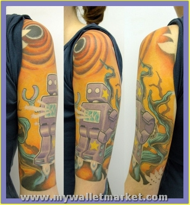 alien-robot-jungle-tattoo-by-thesearemyscars-2781629 by catherinebrightman