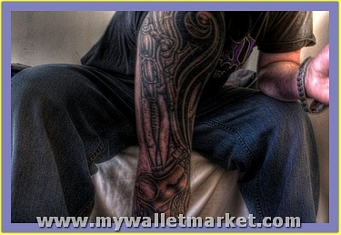 arm-cover-with-alien-tattoo by catherinebrightman