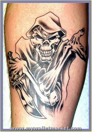ghost-and-knife-tattoo by catherinebrightman