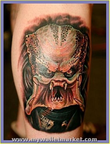 monster-alien-predator-tattoo-design