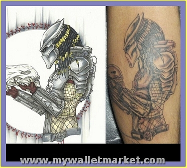 nice-predator-alien-tattoo