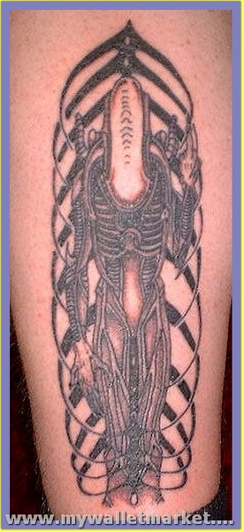 normal-alien-tattoo-design by catherinebrightman