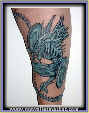 monster-alien-dragon-tattoo