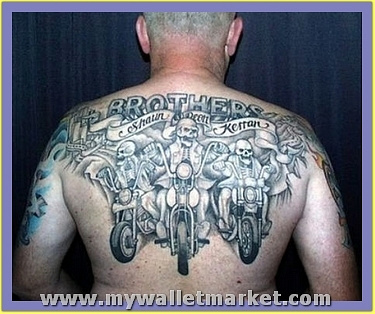 upperback-gargoyle-tattoo-for-men by catherinebrightman