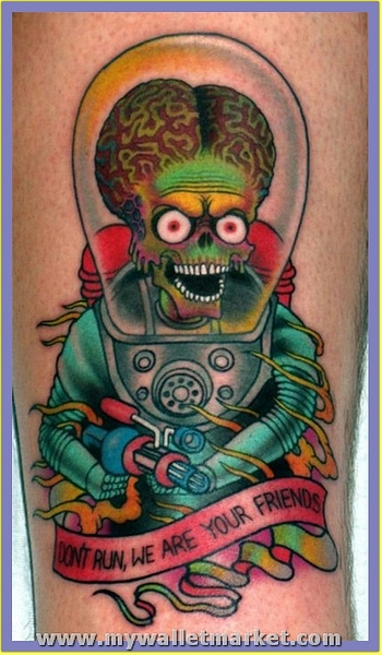 wonderful-alien-tattoo by catherinebrightman