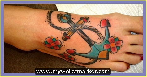 30-anchor-foot-tattoo by catherinebrightman