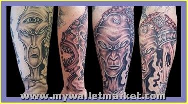 scary-alien-tattoos-on-legs