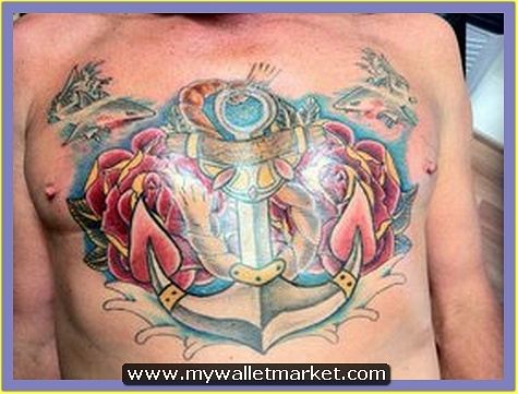 anchor_and_roses_tattoo by catherinebrightman