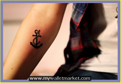 anchor-tattoo-design-on-arm by catherinebrightman