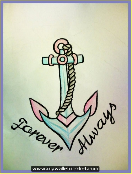 forever-always-anchor-tattoo-design by catherinebrightman