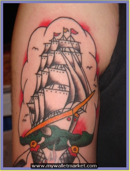 glory-anchor-tattoo by catherinebrightman