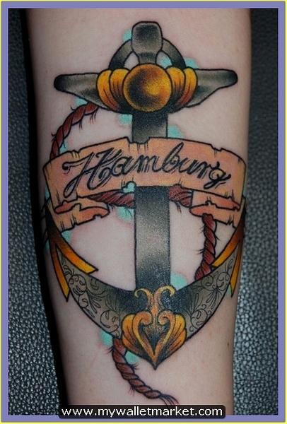 gorgeous-hamburg-anchor-tattoo by catherinebrightman