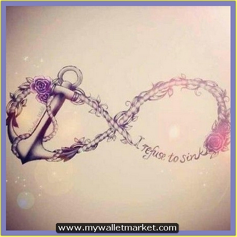 infinity-symbol-anchor-tattoo by catherinebrightman