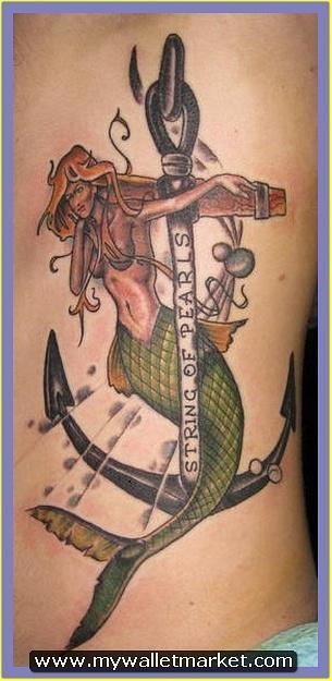 mermaid-anchor-tattoo