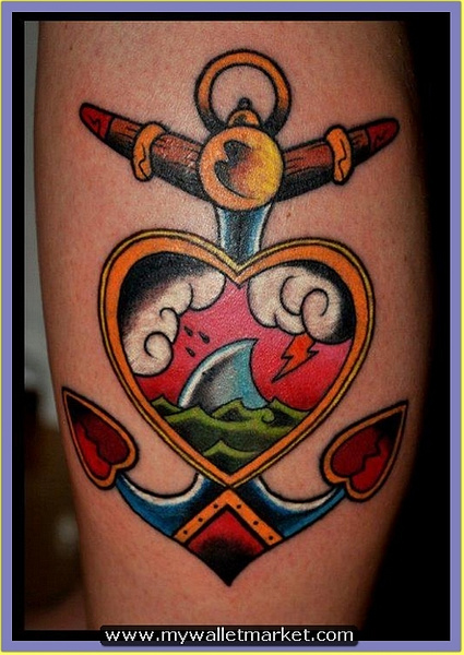 fantastic-heart-anchor-tattoo by catherinebrightman