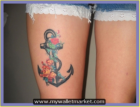thigh-anchor-tattoo by catherinebrightman