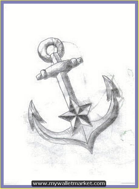 nautical-star-anchor-tattoo-sketch