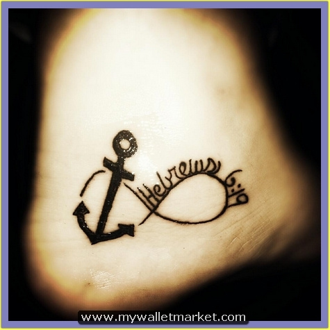 shining-black-anchor-tattoo by catherinebrightman