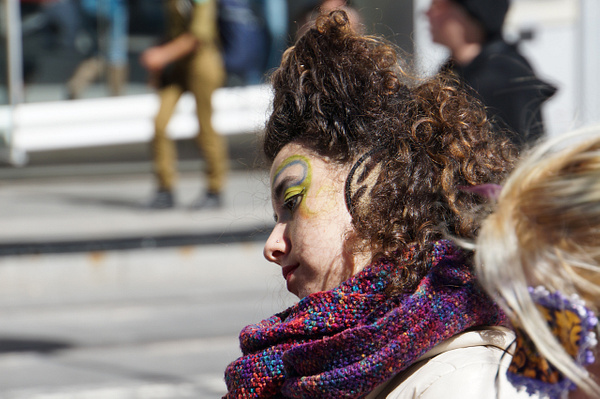 PURIM IN JERUSALEM 2015 by Greg Vickers by Greg Vickers