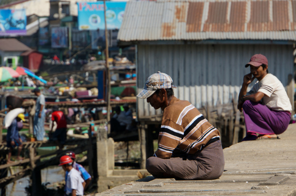 PATHEIN Myanmar 2015 by Greg Vickers by Greg Vickers