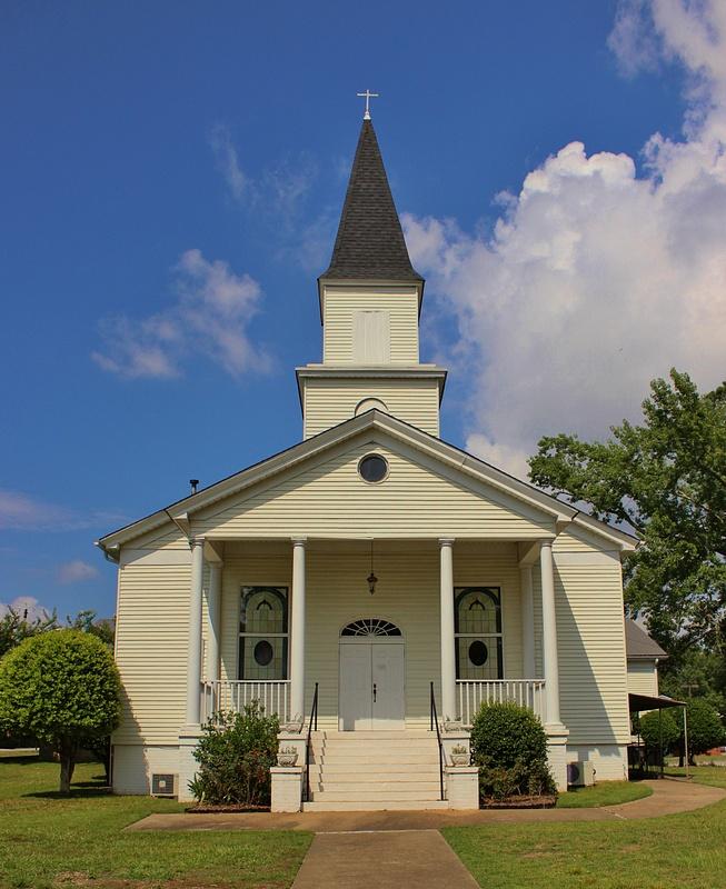 Pepperell United Methodist Church. 26th Street, Opelika, Alabama.