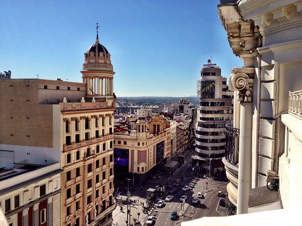 View of Madrid City